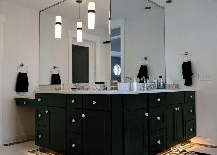 Corner Vanity Mirrors