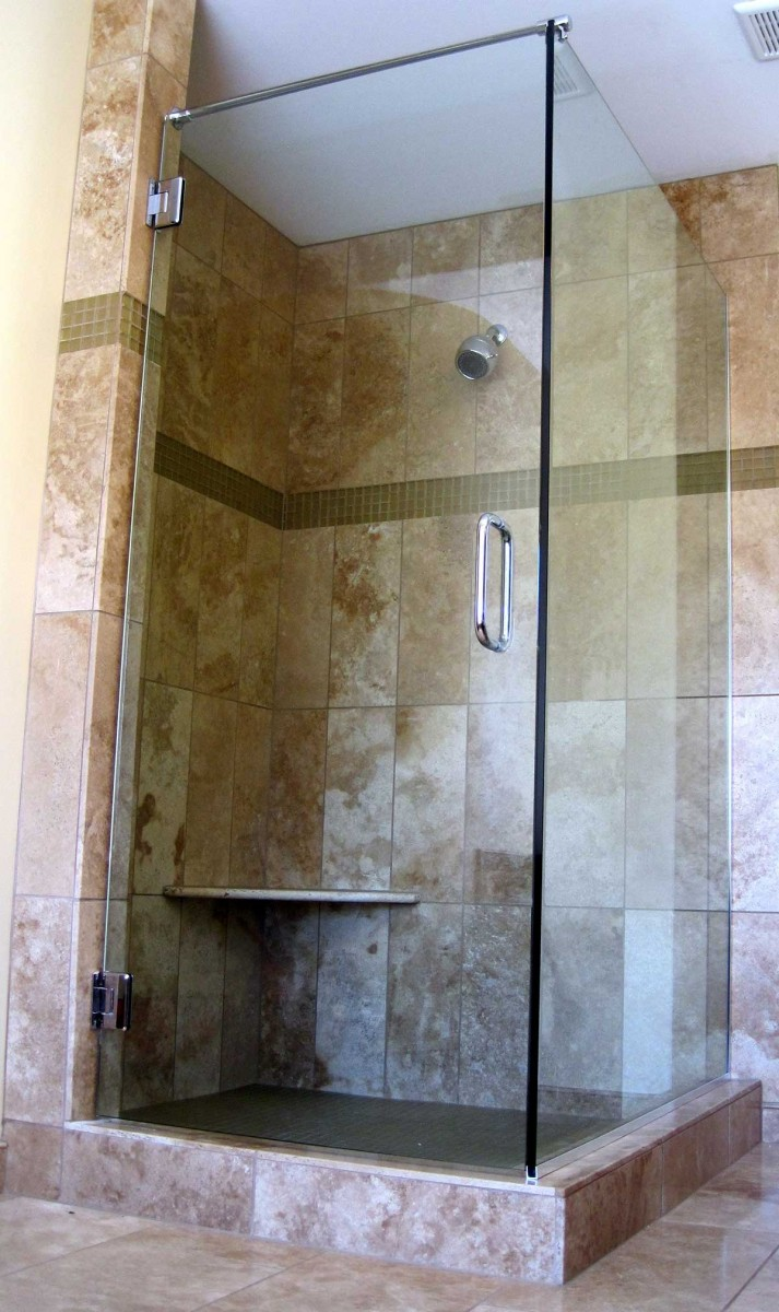 Corner Shower - American Mirror & Glass