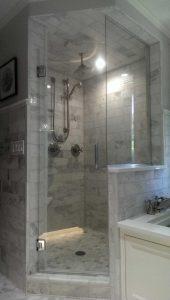 Angled Shower