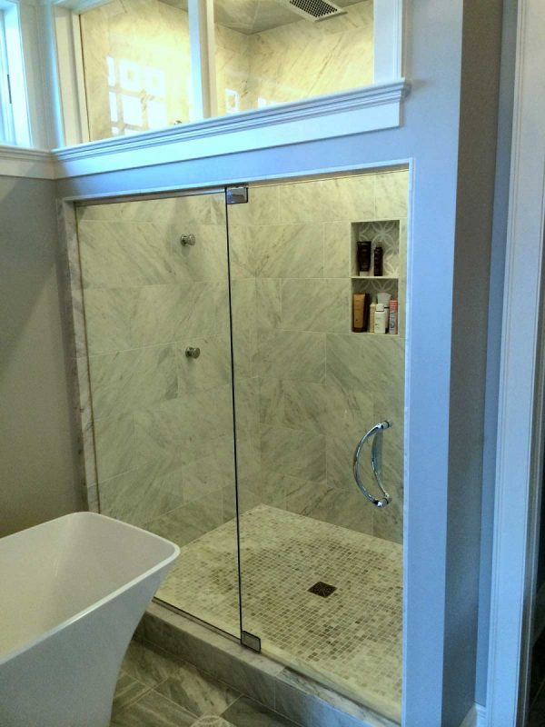 Steam Shower w/Pivot Hinges