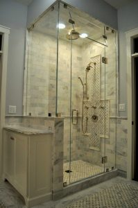 Frameless Steam Shower