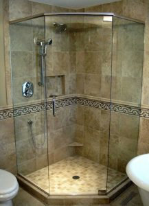Frameless Neoangle Shower