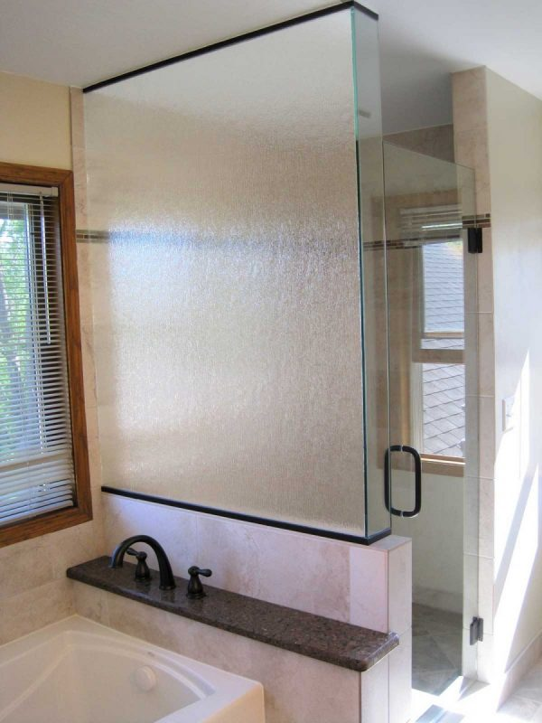 Rain Glass Shower Panel