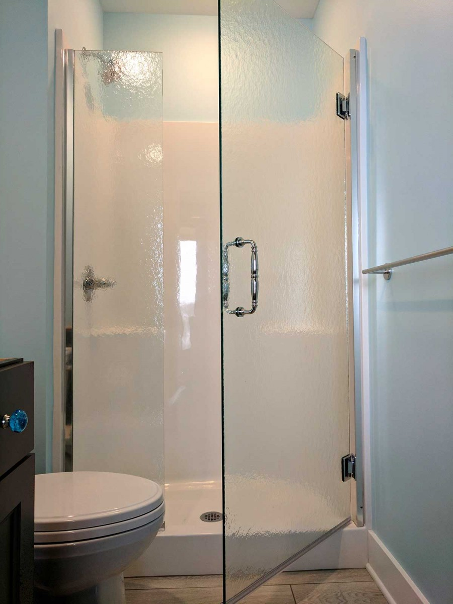 Alcove Shower American Glass Amp Mirror