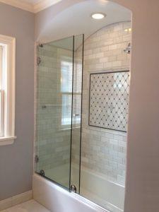 sliding shower