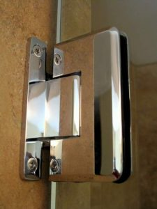 heavy glass shower hinges