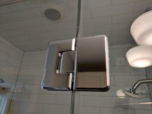180 Degree Hinge for glass shower enclosure